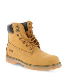 Jeep Gecko Boots Yellow