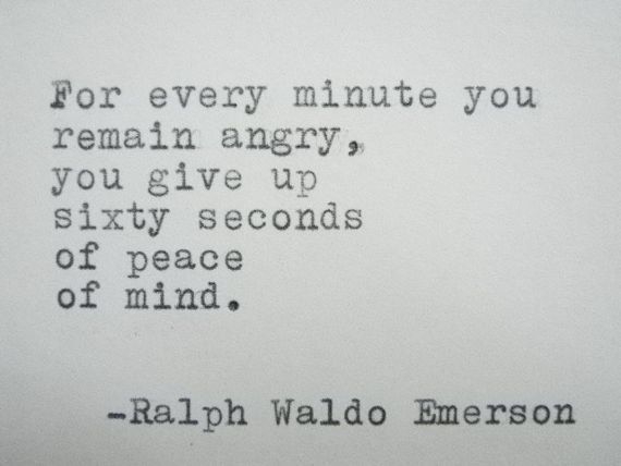 RALPH WALDO EMERSON Quote Hand Typed Typewriter by PoetryBoutique, $8.00