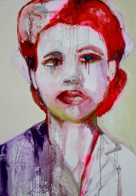 red nurse by Patricia Derks