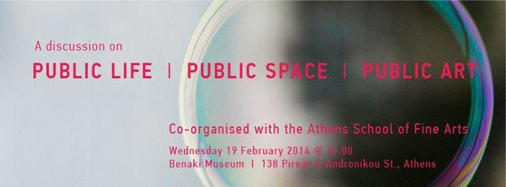 An open discussion on PUBLIC LIFE, PUBLIC SPACE, PUBLIC ART, Athens & Epidaurus Festival |NEON NARRATIVES