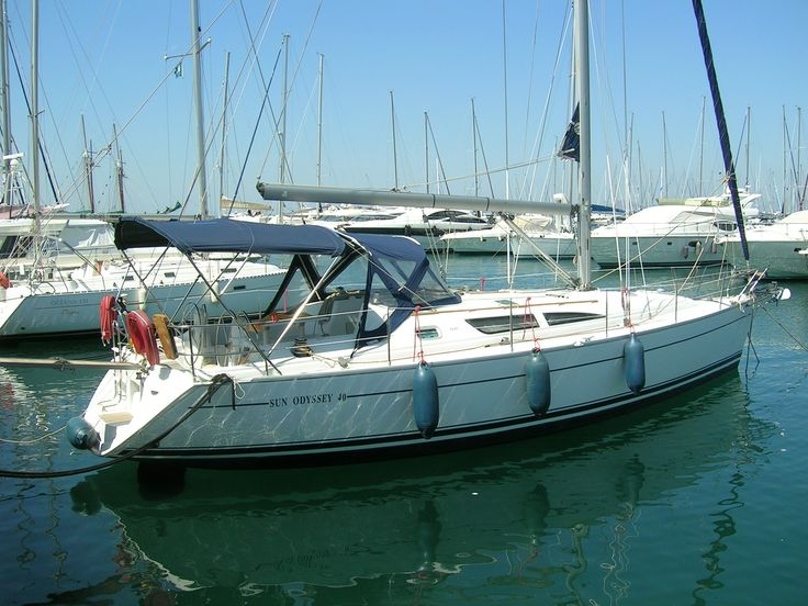 bateau de plaisance  Grèce Croisière Sun Odyssey 40