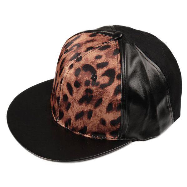 Leopardilippis Mustalla Tekonahkalla