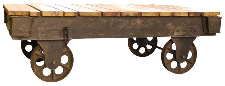 Rustic Wheels Coffee Table Melinda 39 S Board Pinterest Wheels Coffee Tables And Tables