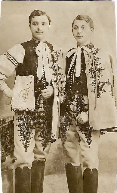 bogihelmeczi: Portrait of two groomsmen by elinor04 AWAY for a while on Flickr.   Area of town Trenčín, Považie region, Western Slovakia.