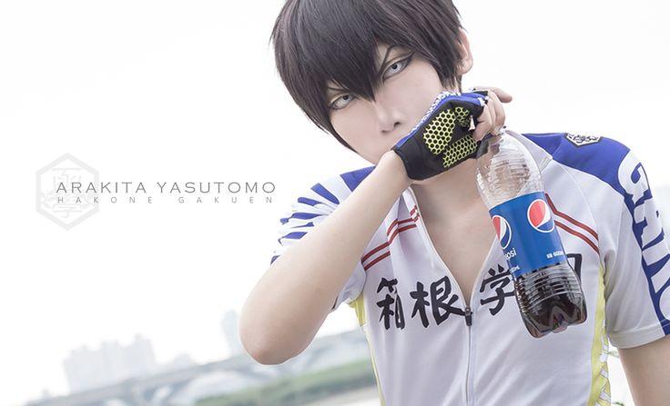 Shun Yamaguchi (瞬) as Arakita Yasutomo  of TMS Entertainment