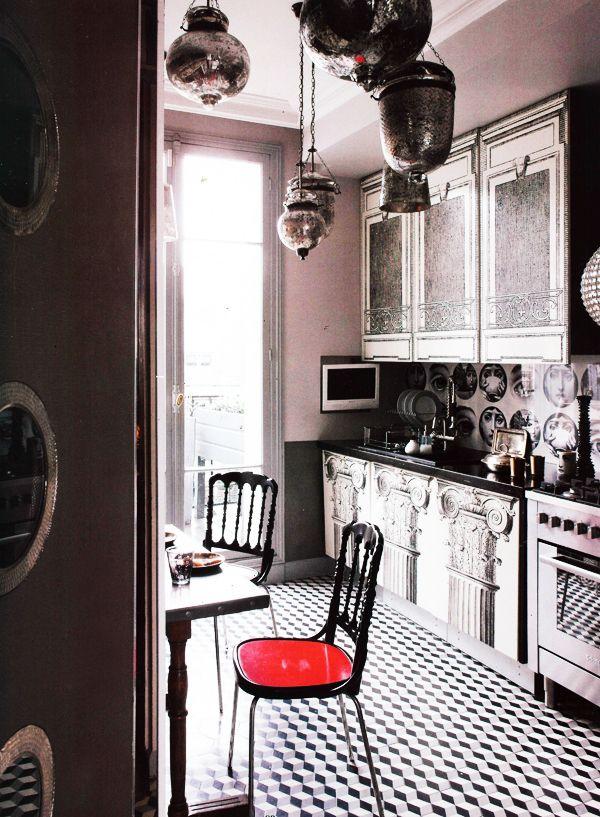 Haute Design by Sarah Klassen: Interior: An Artistic Kitchen
