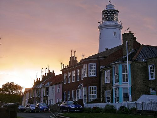 Evening light in Southwold