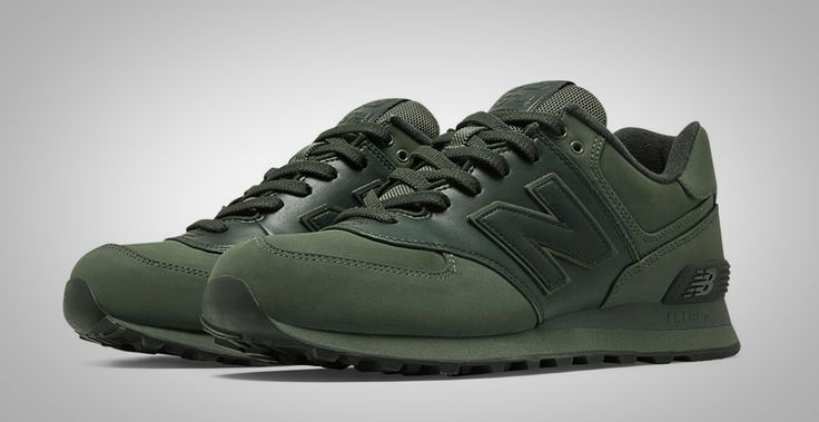 New Balance 574 en verde militar
