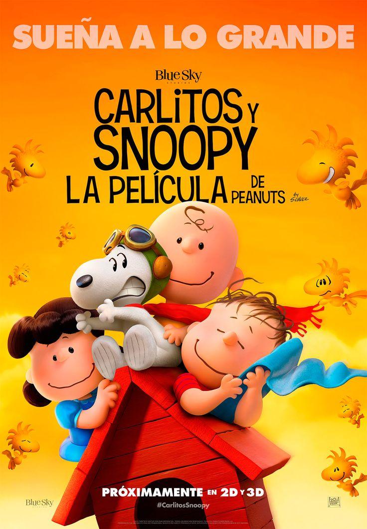 """DVD. Infantil. """"Carlitos y Snoopy. La película de Peanuts"""". Disponible en Biblioteca de La Estación."""