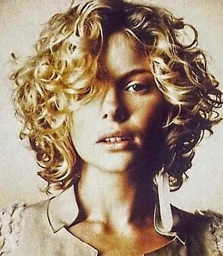 new Short Curly Hairstyles for womens 2015                              …