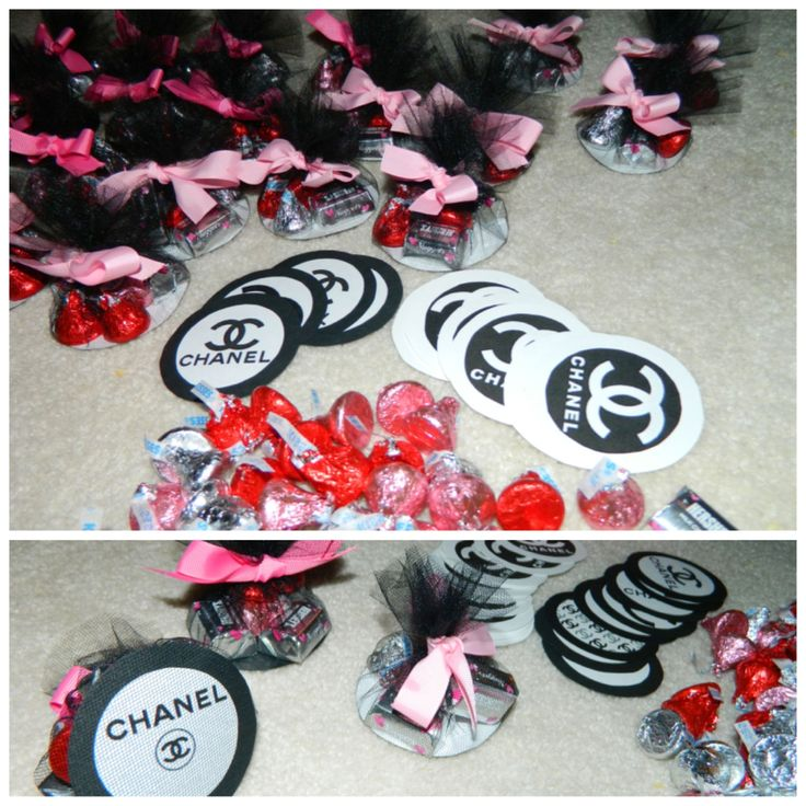 Chanel party favors