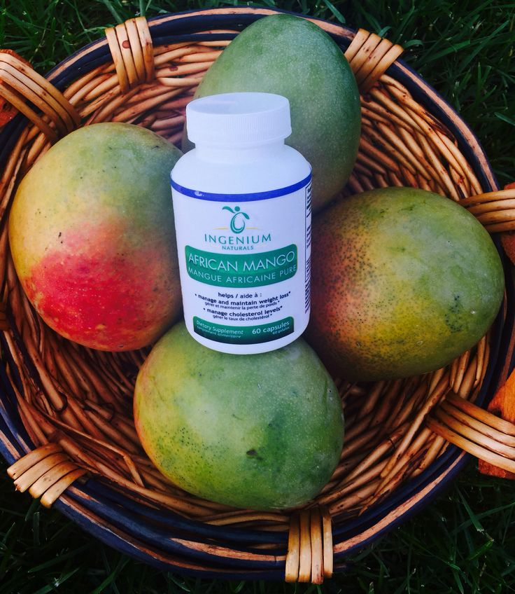 African Mango all-natural supplement to support weight loss