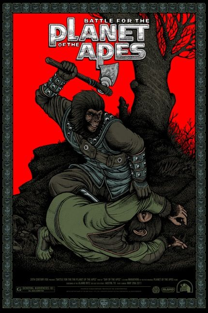 Plant of the Apes Posters from Mondo (http://www.mondotees.com/)