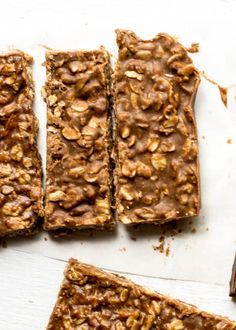 dark chocOlate almond butter bars (vegan & gluten free/no bake)