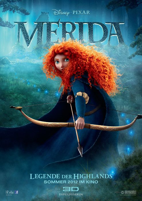 Poster zum Film: Merida - Legende der Highlands (Best Movies Disney)