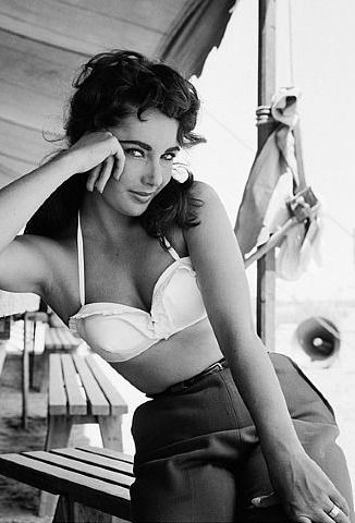 Some people may idealise miley cyrus, cheryl cole ,  but my true ideal is this woman full of class; Elizabeth Taylor.x