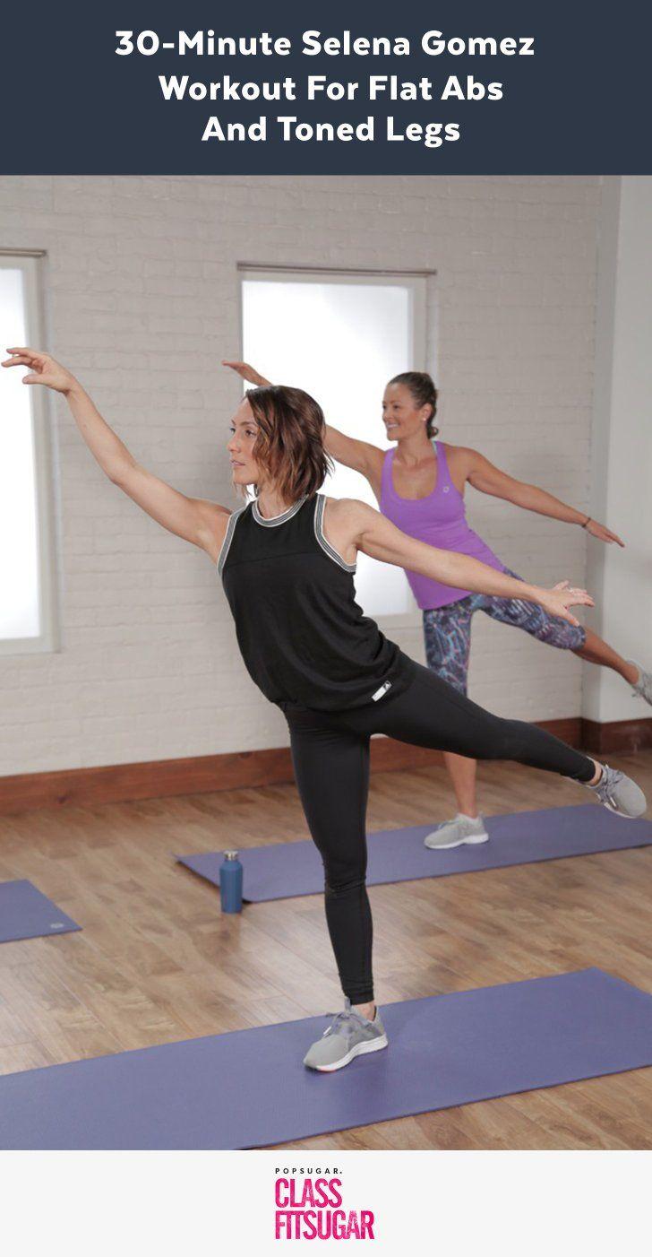 Selena Gomez' 30-minütiges Bauch-und Beine Workout