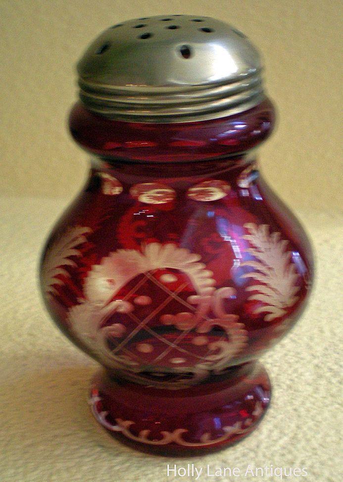 Woman. vintage sugar shaker vous adore