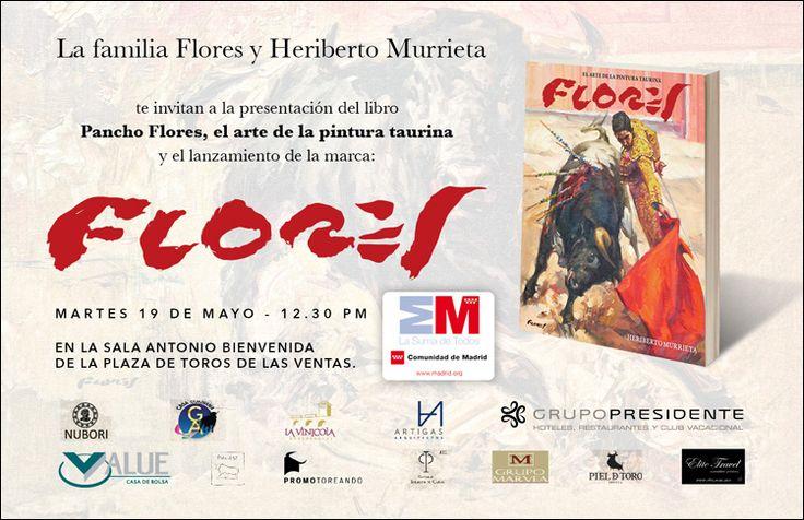 pancho flores pintor taurino | Plaza de Toros de Las Ventas. Actos culturales para el 19 y 20 de mayo ...