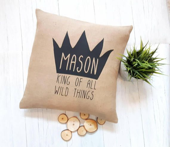 Check out this item in my Etsy shop https://www.etsy.com/ca/listing/568062451/king-of-all-wild-things-nursery-decor