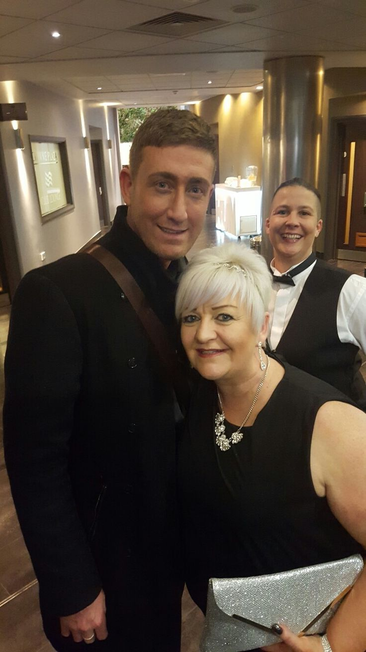Chris Maloney! Great photo bomb Ellie