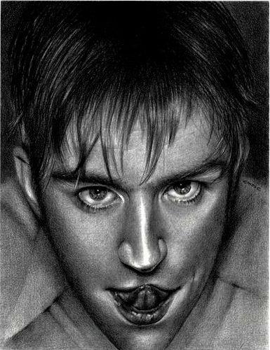 Damon/Tongue #damonalbarn #blur
