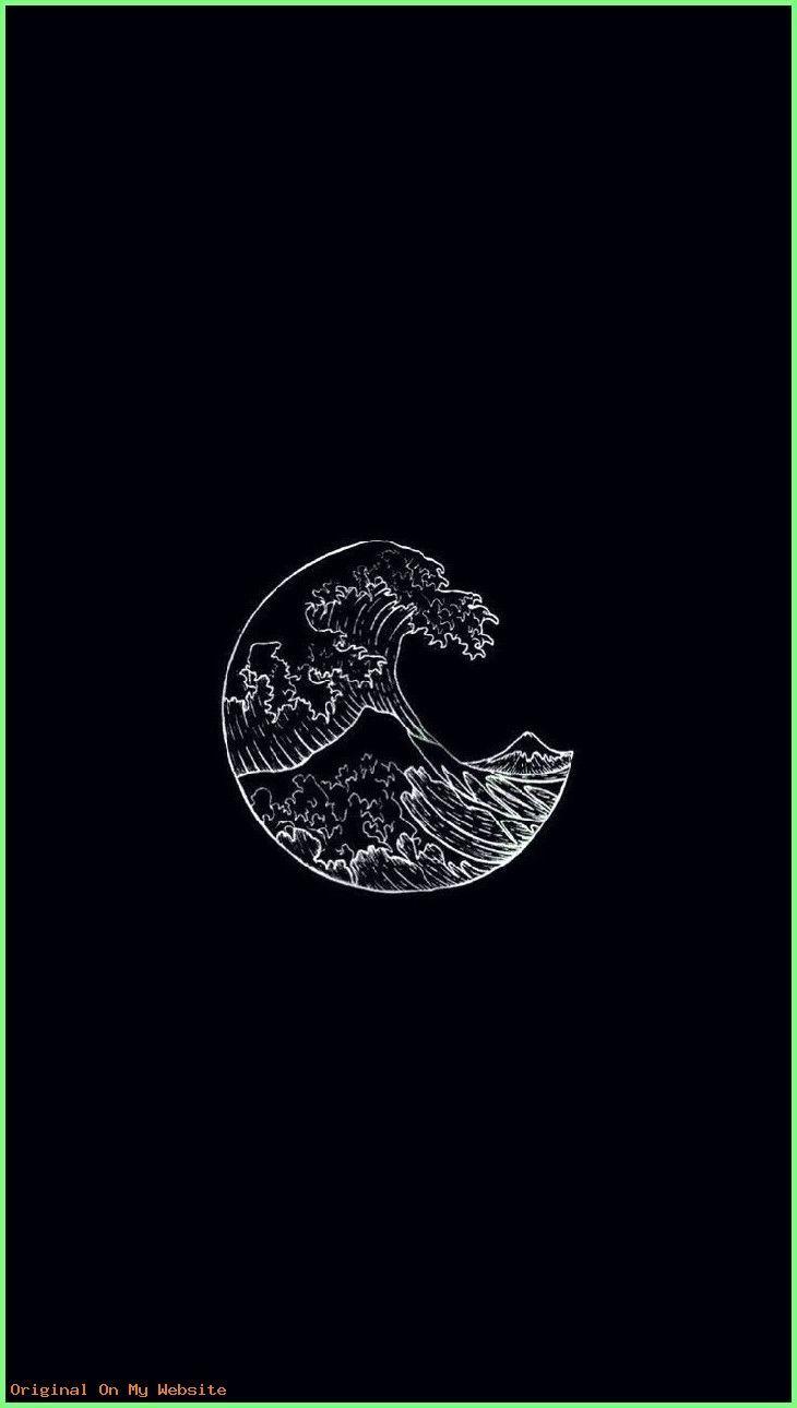 Iphone Aesthetic Waves Black White Aesthetic Tumblr Wallpaper