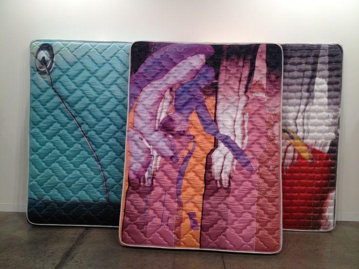 by Wade Guyton & Kelley Walker via Art Basel Miami Beach