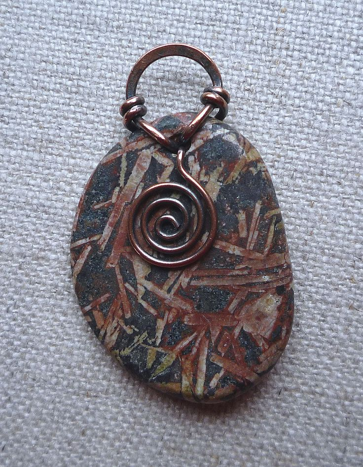 17 best images about wire bails on pinterest copper for Unique stones for jewelry making