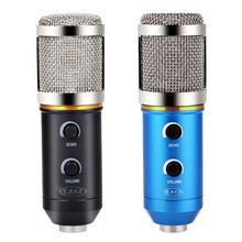 US $26.66 Audio Wired Microphone MK - F200FL 3.5mm Sound Recording Condenser Microphone with Shock Mount Holder Clip for KTV Karaoca. Aliexpress product