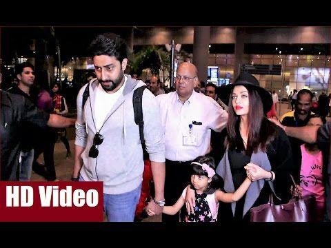 Aishwarya, Abhishek & Aaradhya back to Mumbai after New Year 2017 Celebration in Dubai. Click here to see full video >>> https://youtu.be/i3e5iT_OpEg #aishwaryarai #abhishekbachchan #aaradhyabachchan #bollywood #bollywoodnews