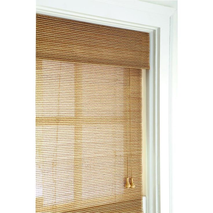 Home Decorators Collection Natural Multi Weave Roman Shade
