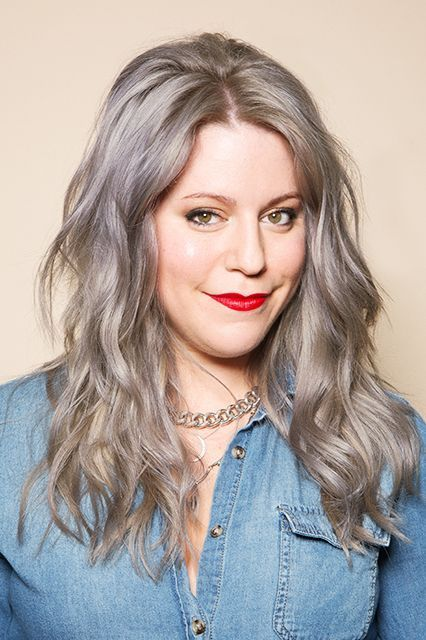 Going Completely Gray Was The Best Decision I've Made #refinery29 http://www.refinery29.com/accepting-gray-hair
