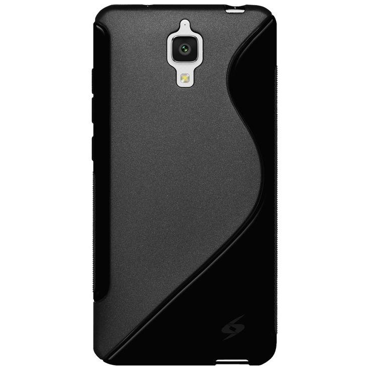 Amzer® TPU Hybrid Case - Black for Xiaomi Mi 4