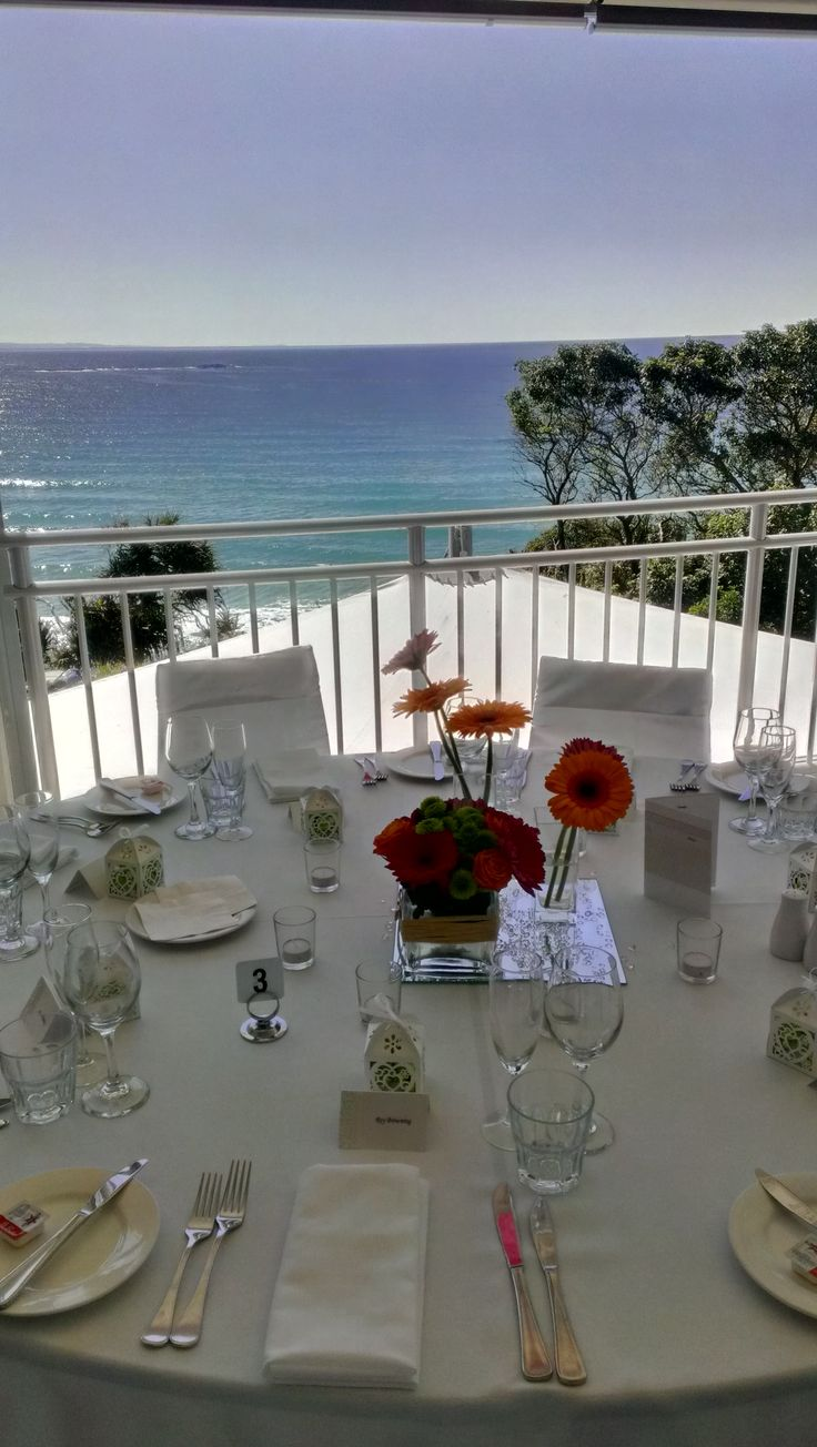 View out from the Headland Function Room