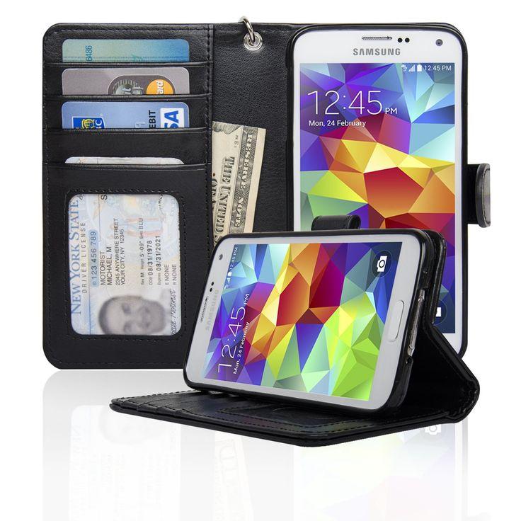 Samsung Galaxy S5 Wallet Case - Navor