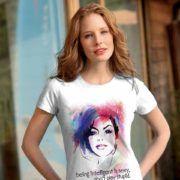 "Tricou inteligent, cu mesajul ""Intelligence is sexy, don't play stupid"".  #fata #frumusete #inteligent #mov #sexy #tricou #tricouri #tricouripersonalizate"