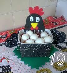 Galinha Porta-Ovos com EVA - Pesquisa Google
