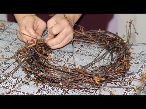Как сделать новогодний венок из сосны 196