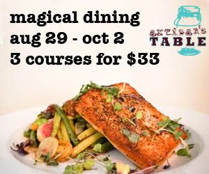 Artisan's Table is participating in Magical Dining Month 2016! #MagicalDining
