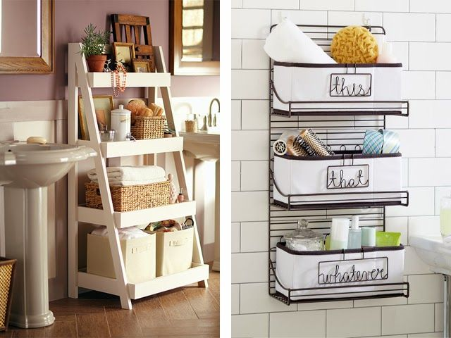 Bathroom Storage Bins And Baskets Organized Clutter