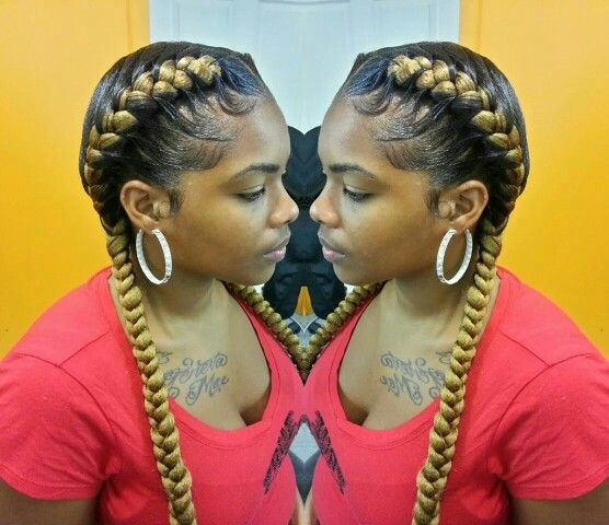 2 simple underbraids | hair styles | Pinterest | Simple ...