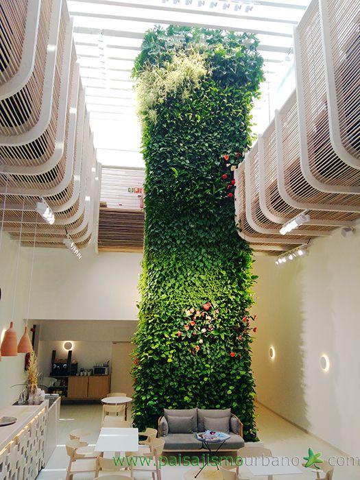 Las 25 mejores ideas sobre jardin vertical artificial en for Jardines verticales interior