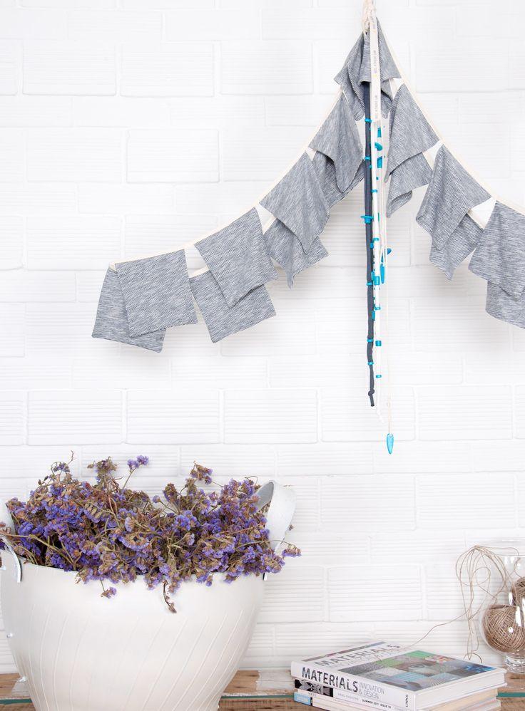 Handmade Wall Decoration 'Squares'.   100% Organic Cotton.   #heelathenslab #heelathens #organiccotton #weloveorganic #decor #homecollection #heelhome #walldecoration #handmade #madeingreece