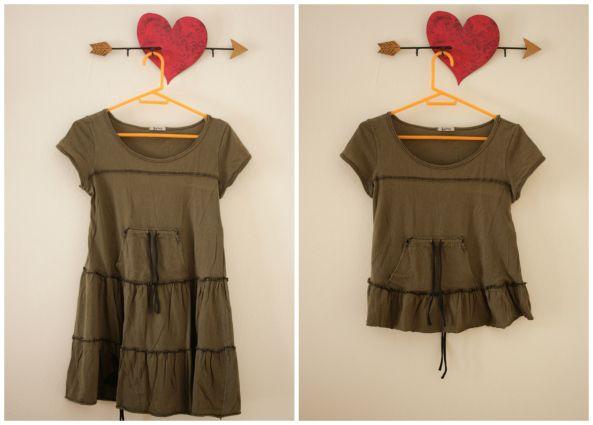 Μεταποίηση ρούχων Ι: Από μικρό σε μεγάλο | in my closet