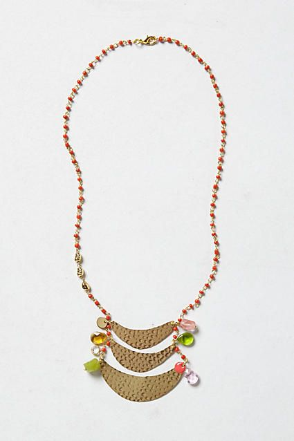 Crescent Ladder Necklace