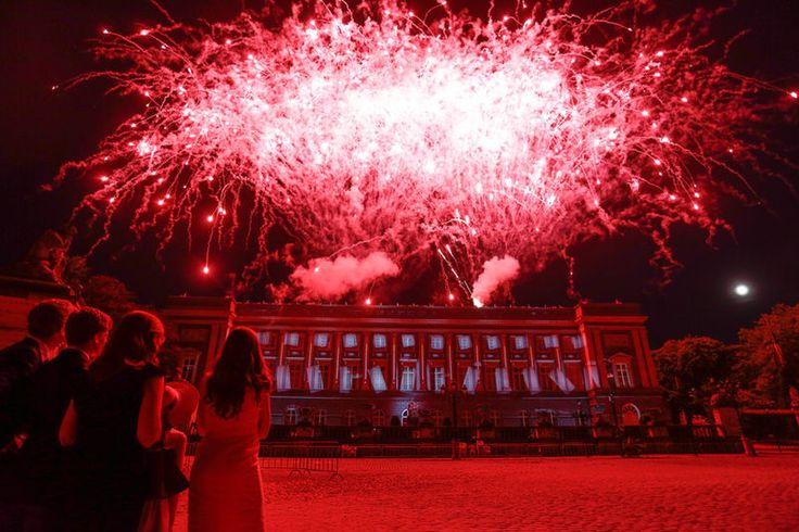 Feu d'artifice - vuurwerk - fireworks 21.07.13 © belga