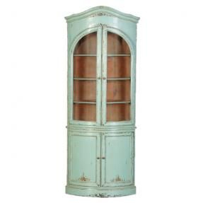 Iu0027ve Just Found Turquoise Corner Shelving Unit. A Spectacular Corner  Display Unit With Ample Storage Space.