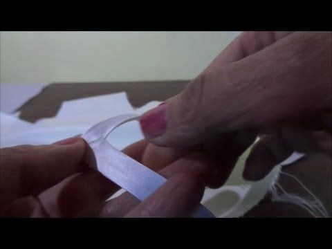 Come applicare lo sbieco su una scollatura a V