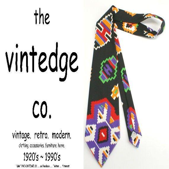 vintage // 60s 70s mad men rockabilly mens navajo by thevintedgeco, $12.00